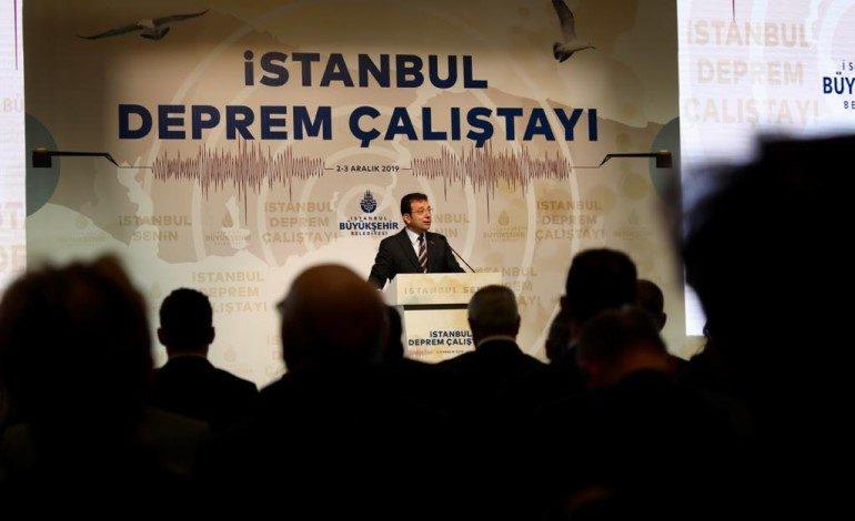 İBB, İstanbul Deprem Platformu Kuruyor