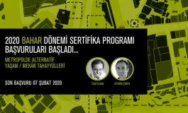 AURA İstanbul, 2020 Bahar Dönemi Sertifika Programı Başvuruları Başladı!