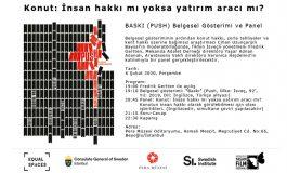 Konut: İnsan hakkı mı, yatırım aracı mı? Baskı (Push) Belgesel Gösterimi ve Panel