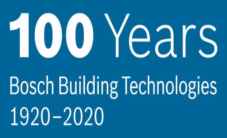 Bosch Bina Teknolojileri'ndeki uzmanlığının 100'üncü yılını kutluyor