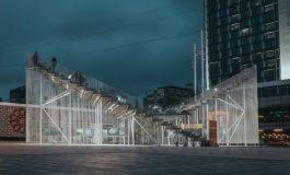 Taksim Meydanı'ndaki Kavuşma Durağı IND [Inter.National.Design] Mimarlık'tan Arman Akdoğan tarafından tasarlandı