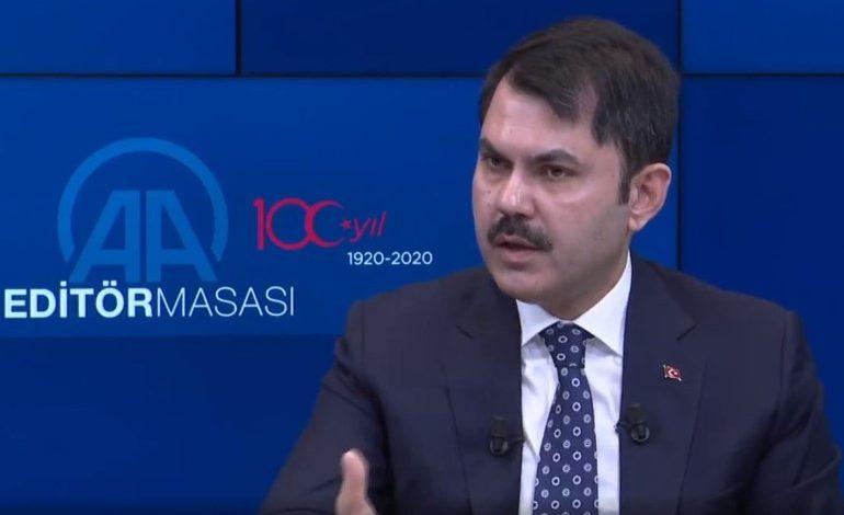 Murat Kurum AA Editör Masasında Açıklama Yaptı