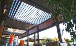 Bahçe Keyfine Konfor Katan Teknoloji, Somfy Motorlu Pergola Çözümleri