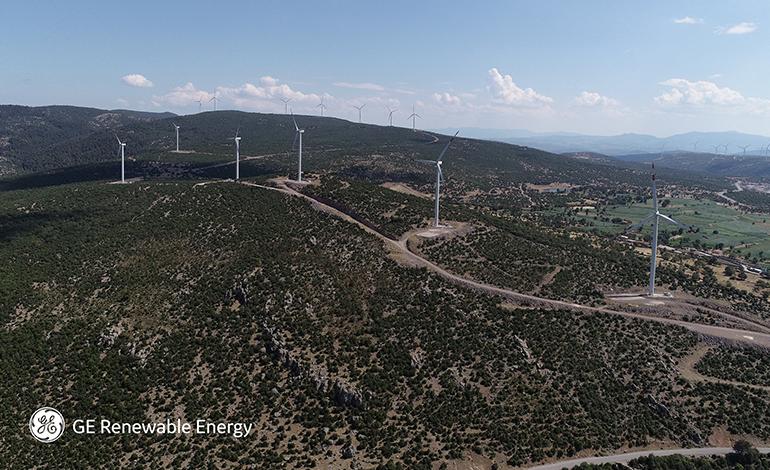 GE Yenilenebilir Enerji ve Fina Enerji, Türkiye'de 193 MW Gücünde Rüzgâr Santralleri Kuracak