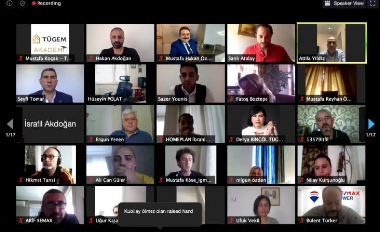 Dünya Emlak Sektörü TÜGEM Online Yayınında Konuşuldu