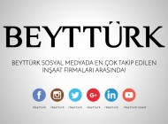 BEYTTÜRK Sosyal Medyada En Çok Takip Edilen İnşaat Firmaları Arasında