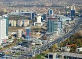 1. çeyrekte Ankara geçen sene aynı çeyreğe göre 8,16 puan artış gösterdi