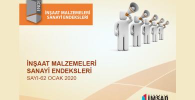 'Türkiye İmsad İnşaat Malzemeleri Sanayi Bileşik Endeksi' Ocak Ayı Sonuçları Açıklandı