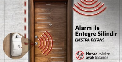 Kale Alarm Ekstra Defans, Hırsızı Eve Ayak Basmadan Kapıda Durduruyor