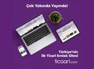 Türkiye'nin İlk Ticari Emlak Sitesi ticaari.com Geliyor
