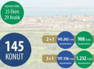 Bursa İznikte, 145 Toki konutu satışa çıktı