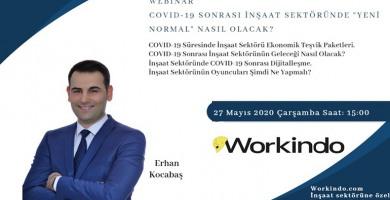 """Covid-19 Sonrası İnşaat Sektörünün """"Yeni Normal""""i Webinarı"""